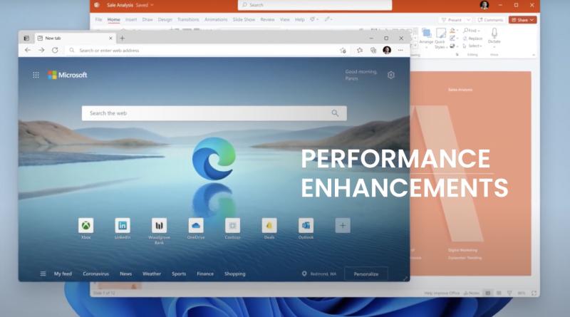 Performance Enhancements in Windows 11